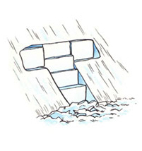 Snow Cave This Is Just A Larger Survival Shelter With A