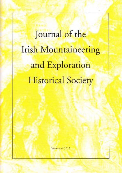 Volume 4 Journal of the Irish Mountaineering and E