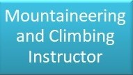 Mountaineering & Climbing Instructor Button