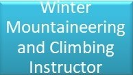 Winter Mountaineering & Climbing Instructor Button